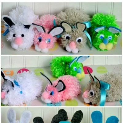 Pom Pom Easter Bunny Craft