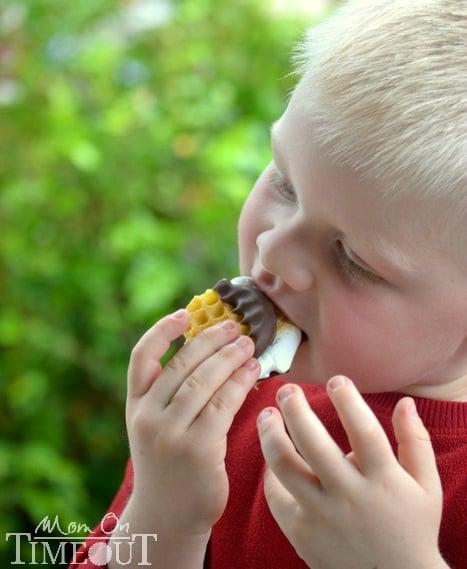 Bryce-eating-smores-slider