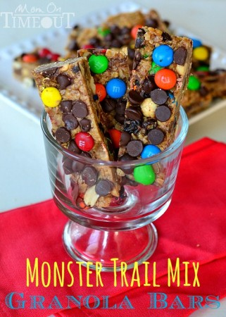 Monster-Trail-Mix-Granola-Bars-Homemade