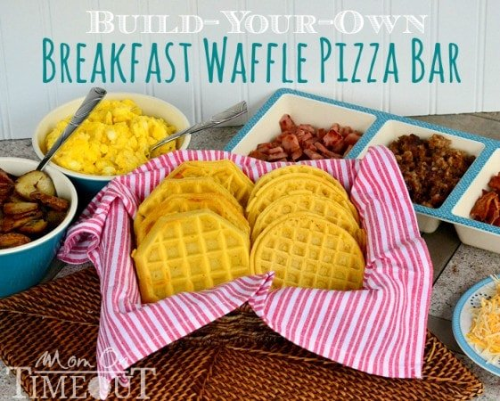 build-your-own-breakfast-waffle-pizza-bar