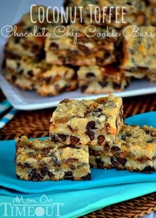 coconut-heath-toffee-chocolate-chip-oatmeal-cookie-bars-recipe
