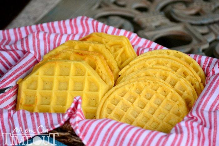 eggo-waffles-in-basket-for-breakfast-pizza-bar