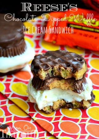 reeses-candy-ice-cream-sandwich-chocolate-waffle-recipe