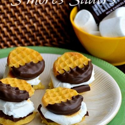 S'mores Waffle Sliders