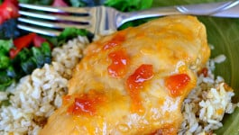 Apricot-Orange Slow Cooker Chicken