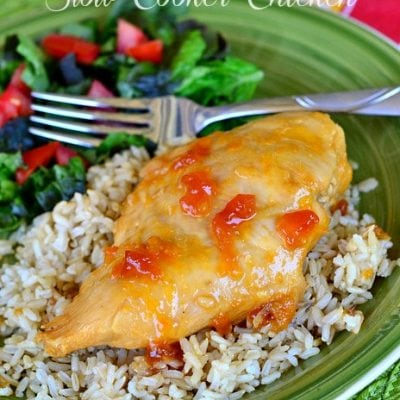 Apricot-Orange Slow Cooker Chicken