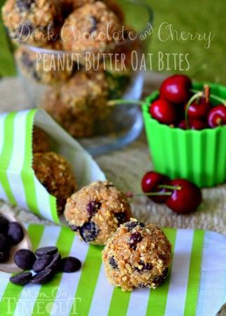 dark-chocolate-cherry-peanut-butter-oat-bites