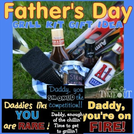 Fathers Day Grill Kit Gift Idea | MomOnTimeout.com #fathersday #giftideas  sc 1 st  Mom On Timeout & Fatheru0027s Day Grill Kit Gift Idea - Mom On Timeout