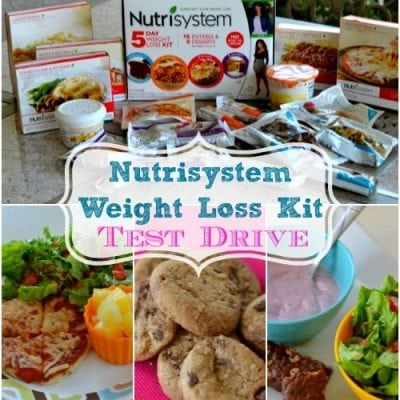 Nutrisystem's 5 Day Weight Loss Kit Test Drive #Nutri5DayKit