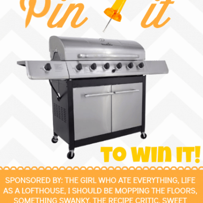 Summer Grillin' Pin It To Win It Giveaway!