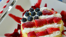 A Red, White, and Blueberry Breakfast