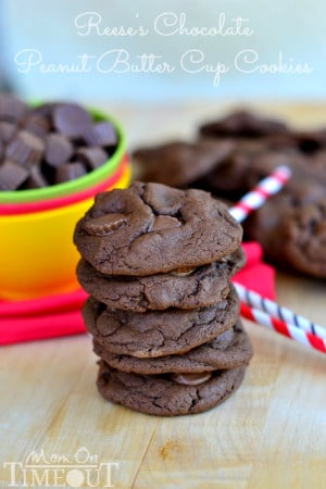reeses-chocolate-peanut-butter-cup-cookies