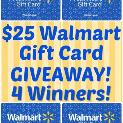 Summer Celebrations and Giveaway ($25 Walmart Gift Cards – 4 Winners!)