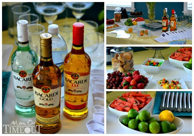 bacardi-party-collage