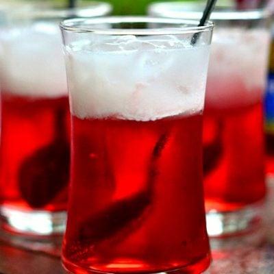Cherry Italian Cream Sodas
