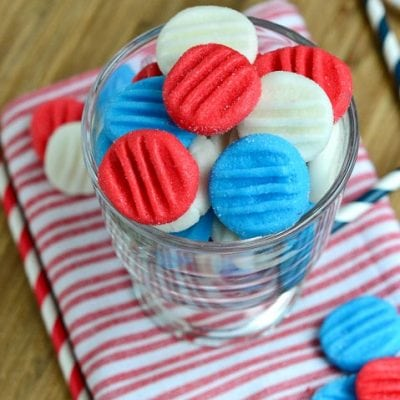 Red, White and Blue Patriotic Peppermint Patties