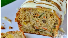 Carrot Zucchini Apple Bread