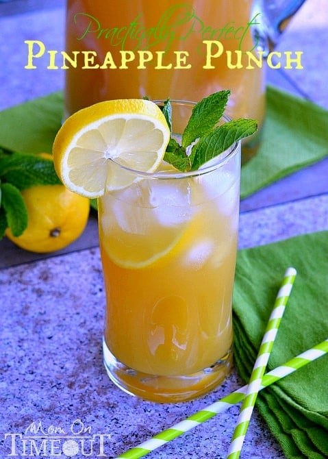 pineapple-punch-recipe-with-lemon-and-tea