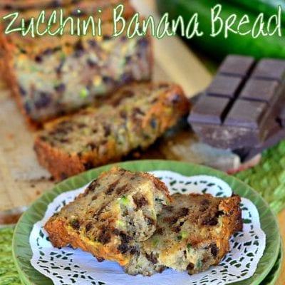 Chocolate Chip Zucchini Banana Bread
