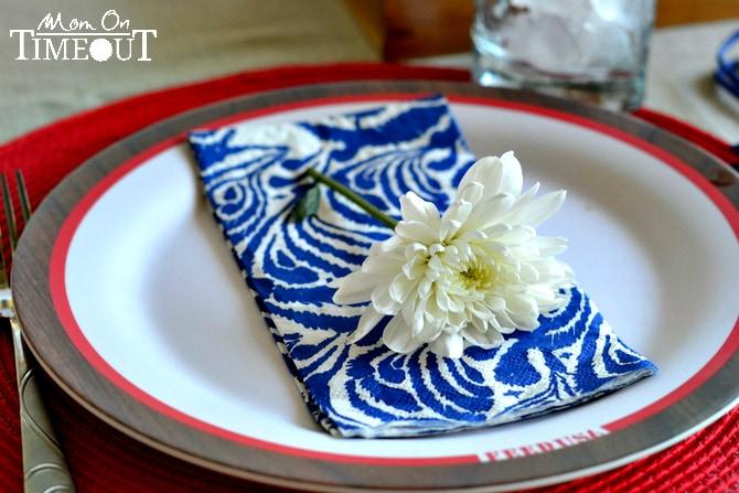 flower-on-plate