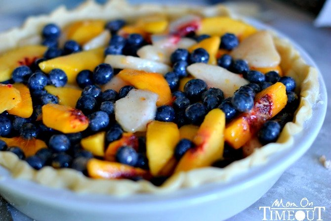 peaches-and-blueberries