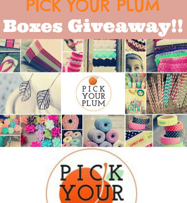 Pick Your Plum Giveaway – Two $50 Boxes Up for Grabs!!