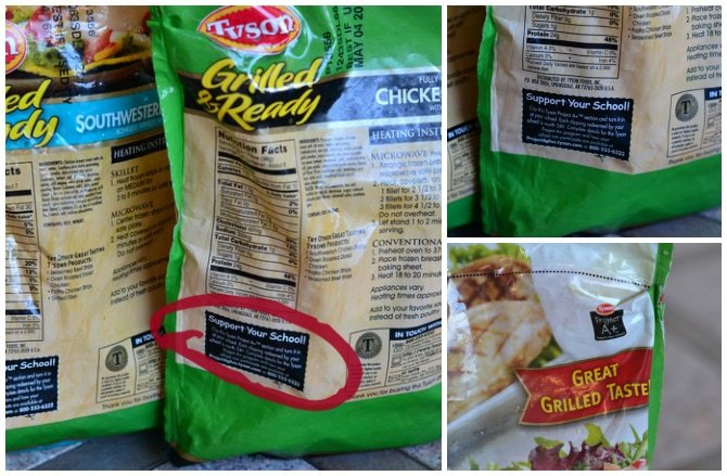 #ad Tyson Project A+ Labels #ClipForSchool