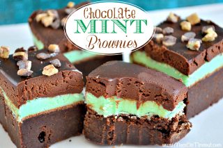 4-Chocolate Mint Brownies Recipe sidebar