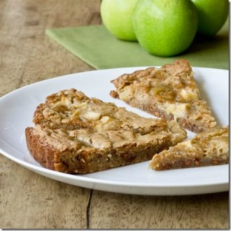 Apple Cinnamon Blondies