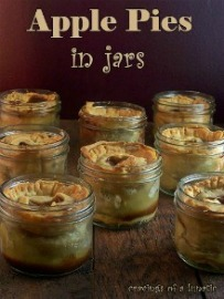 Apples Pies in Jars