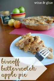 Biscoff Butterscotch Apple Pie