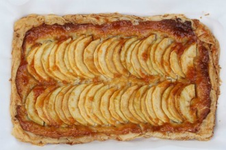 Braeburn Apple and Almond Tart