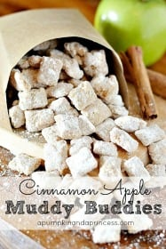 Cinnamon Apple Muddy Buddies