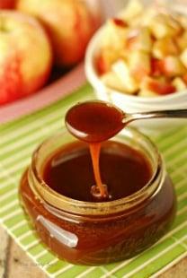 Cinnamon Buttermilk Caramel Syrup