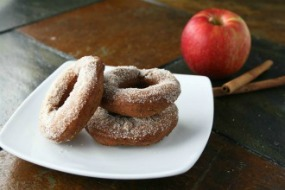 Mulled Apple Cider Doughnuts