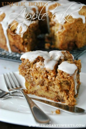 Uncle Bob's Apple Cake recipe