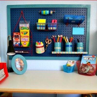 DIY Organization Station #ScotchBTS