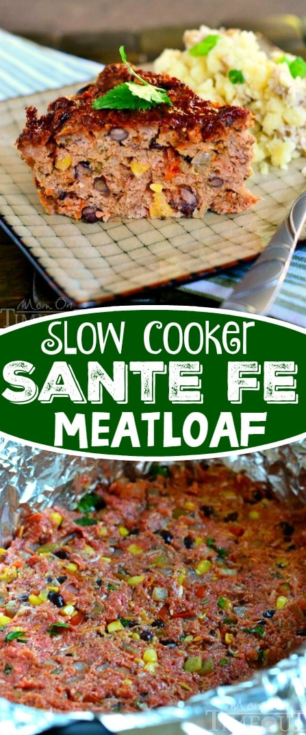 This Slow Cooker Sante Fe Meatloaf recipe is a fantastic way to get a delicious meal on the table without all the stress! A fantastic recipe that is sure to become a new family favorite!