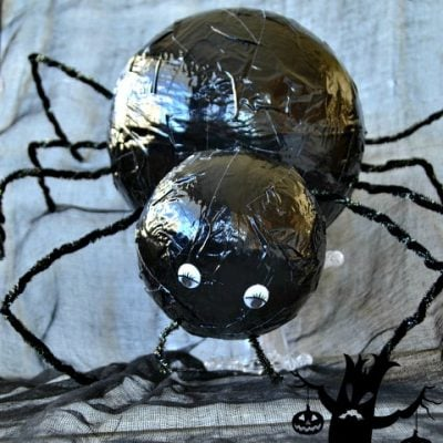 DIY Black Widow Spider