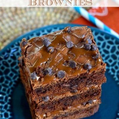 Homemade Mocha Chocolate Chip Brownies