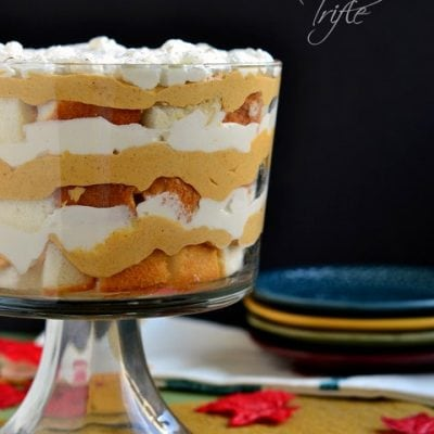 Pumpkin Cheesecake Trifle