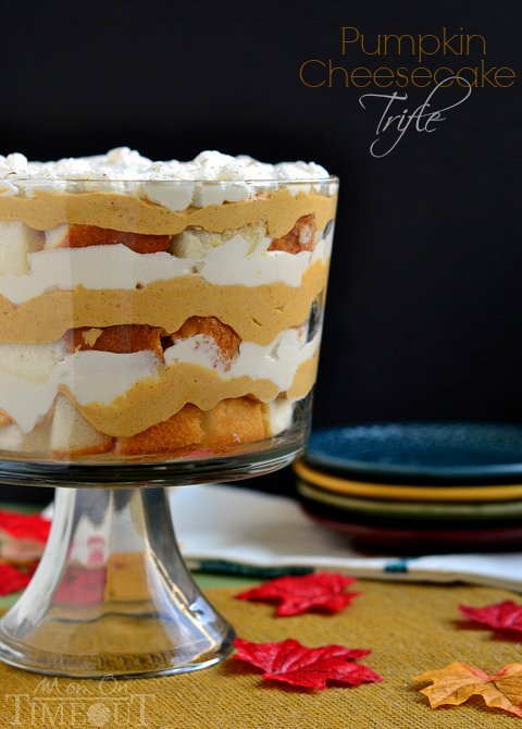 pumpkin cream trifle easy pumpkin cream trifle pumpkin gingerbread ...