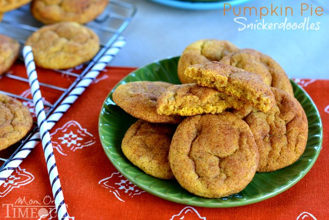 pumpkin pie snickerdoodle recipe