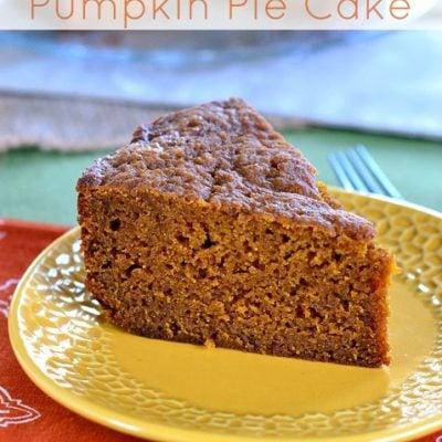 Slow Cooker Pumpkin Pie Cake
