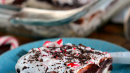 Chocolate Peppermint 4 Layer Dessert