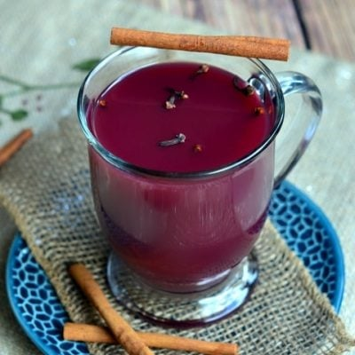 Hot Spiced Citrus Grape Punch