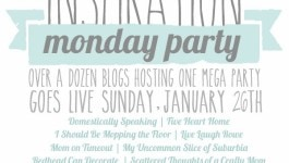 MEGA Inspiration Monday Party + GIVEAWAY!