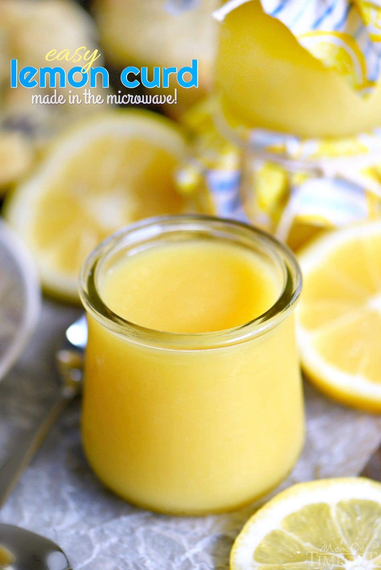 Easy Lemon Curd Recipe Mom On Timeout