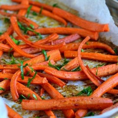 Roasted Marsala Carrots