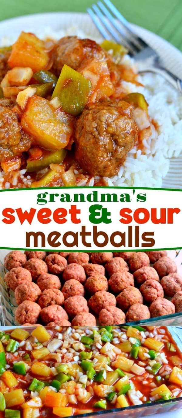 sweet-and-sour-meatballs-recipe-collage